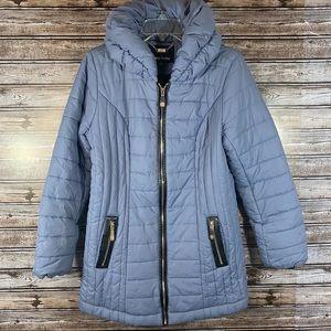 Dennis by Dennis Basso- Full Zip Puffer Jacket